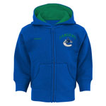 Vancouver Canucks Infant Pledge Full-Zip Fleece Hoodie by Reebok
