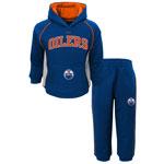 Edmonton Oilers Infant Classic Fan Pullover Fleece Hoodie and Pant Set by Reebok
