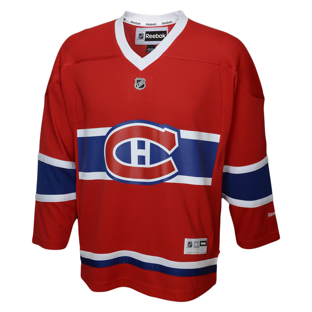 sports shoes f40ac ca746 Reebok Montreal Canadiens Toddler (2-4T) Replica Home NHL Hockey Jersey