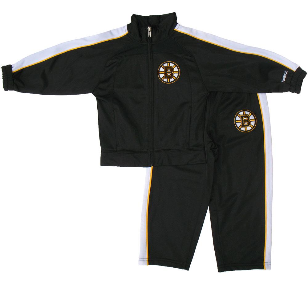 timeless design f4e0c e5c49 Boston Bruins Toddler Zip-Up Jacket & Pant Set by Reebok