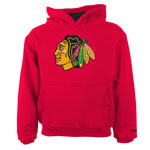 Chicago Blackhawks Preschool Prime Basic Pullover Fleece Hoodie by Reebok