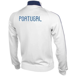 Portugal Authentic N98 Full Zip Track Jacket White