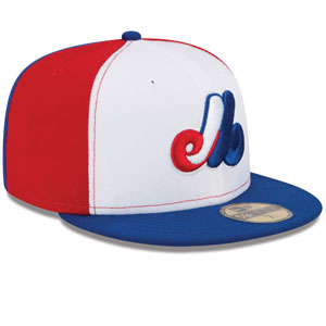 39c26b8eb75 ... Montreal Expos Cooperstown 1969-91 Authentic Collection On-Field  59FIFTY Fitted Game Hat by ...