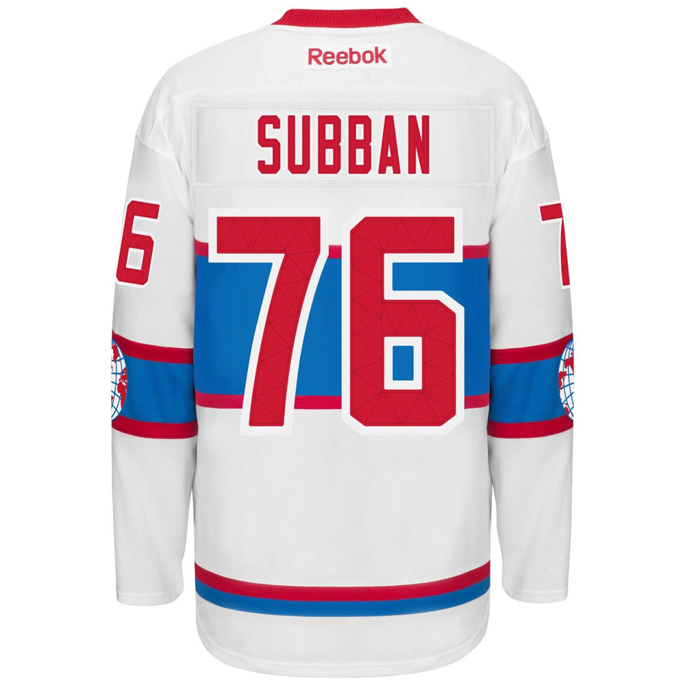 reputable site f8d7f 4380d Montreal Canadiens P.K. Subban Winter Classic 2016 Premier Replica Jersey  by Reebok