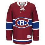 Reebok Montreal Canadiens Big & Tall Premier Replica Home NHL Hockey Jersey