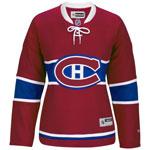 Reebok Montreal Canadiens Women's Premier Replica Home NHL Hockey Jersey