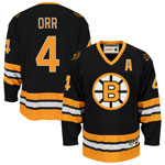 Bobby Orr Boston Bruins Heroes of Hockey 1975-1976 Away Jersey by CCM