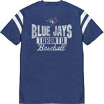 Toronto Blue Jays 4 Seamer T-Shirt by Bulletin
