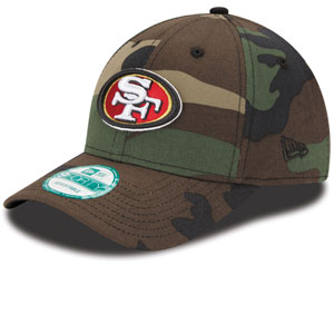 9ca08e576 TheSportsDen.ca  San Francisco 49ers Basic Camouflage 9FORTY ...
