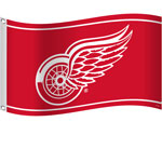 Detroit Red Wings 3'x5' Flag by Sports Vault
