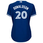 Toronto Blue Jays Women's Josh Donaldson Cool Base Replica Alternate Jersey by Majestic