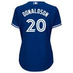 Toronto Blue Jays Women's Josh Donaldson Cool Base Replica Alternate Jersey by Majestic