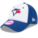 Toronto Blue Jays Women's Team Glimmer 9TWENTY Adjustable Hat by New Era
