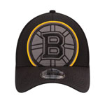 Boston Bruins Build Up 39THIRTY Performance Stretch Fit Hat by New Era