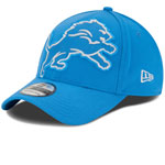 Detroit Lions Magnifier Classic 39THIRTY Stretch Fit Hat by New Era