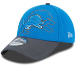 Detroit Lions Shadow Tech 39THIRTY Stretch Fit Hat by New Era