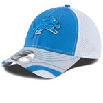Detroit Lions Tumbled Neo 39THIRTY Stretch Fit Hat by New Era