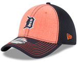 Detroit Tigers Heathered Neo 39THIRTY Stretch Fit Hat by New Era