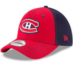 Montreal Canadiens Team Front Neo 39THIRTY Stretch Fit Hat by New Era