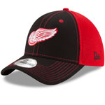 Detroit Red Wings Team Front Neo 39THIRTY Stretch Fit Hat by New Era