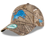 Detroit Lions The League Realtree Camo 9FORTY Adjustable Hat by New Era