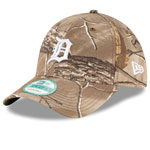 Detroit Tigers The League Realtree Camo 9FORTY Adjustable Hat by New Era