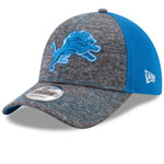 Detroit Lions Shadow Turn 9FORTY Adjustable Hat by New Era