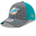 Miami Dolphins Shadow Turn 9FORTY Adjustable Hat by New Era