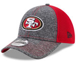 San Francisco 49ers Shadow Turn 9FORTY Adjustable Hat by New Era