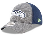 Seattle Seahawks Shadow Turn 9FORTY Adjustable Hat by New Era