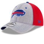 Buffalo Bills Heathered Neo 2 39THIRTY Stretch Fit Hat by New Era