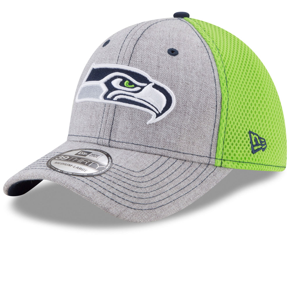 the best attitude 4db01 39c45 ... fit hat size f257b cheap seattle seahawks heathered neo 2 39thirty  stretch fit hat by new era fa297 5d432 shopping new era mens 2016 nfl ...