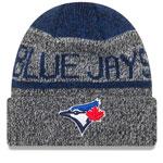 Toronto Blue Jays Layered Chill Cuffed Knit Hat by New Era