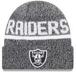 Oakland Raiders Layered Chill Cuffed Knit Hat by New Era