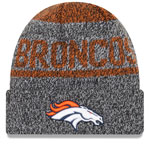 Denver Broncos Layered Chill Cuffed Knit Hat by New Era