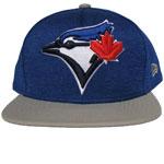 Toronto Blue Jays Heather Huge Snap 9FIFTY Adjustable Snapback Hat by New Era