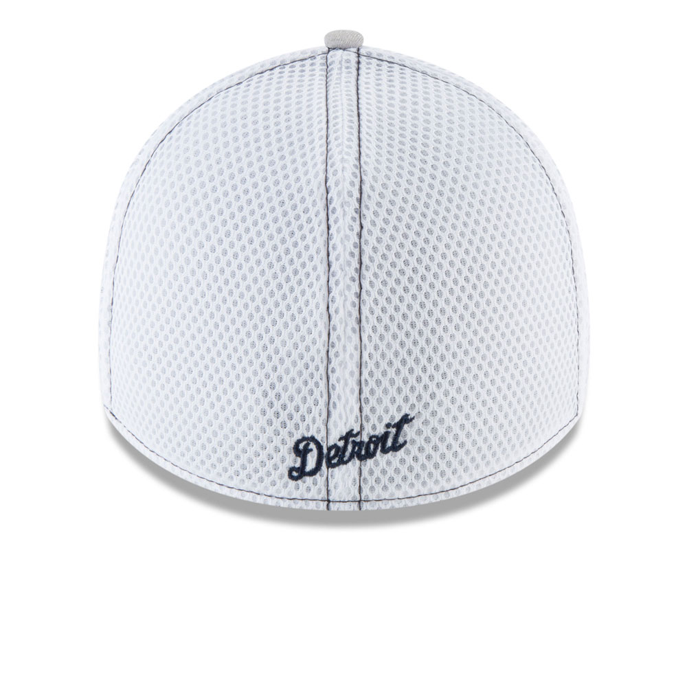 ... Detroit Tigers Classic Shade Neo 39THIRTY Stretch Fit Hat - Grey by New  Era acbe7ee89ffd