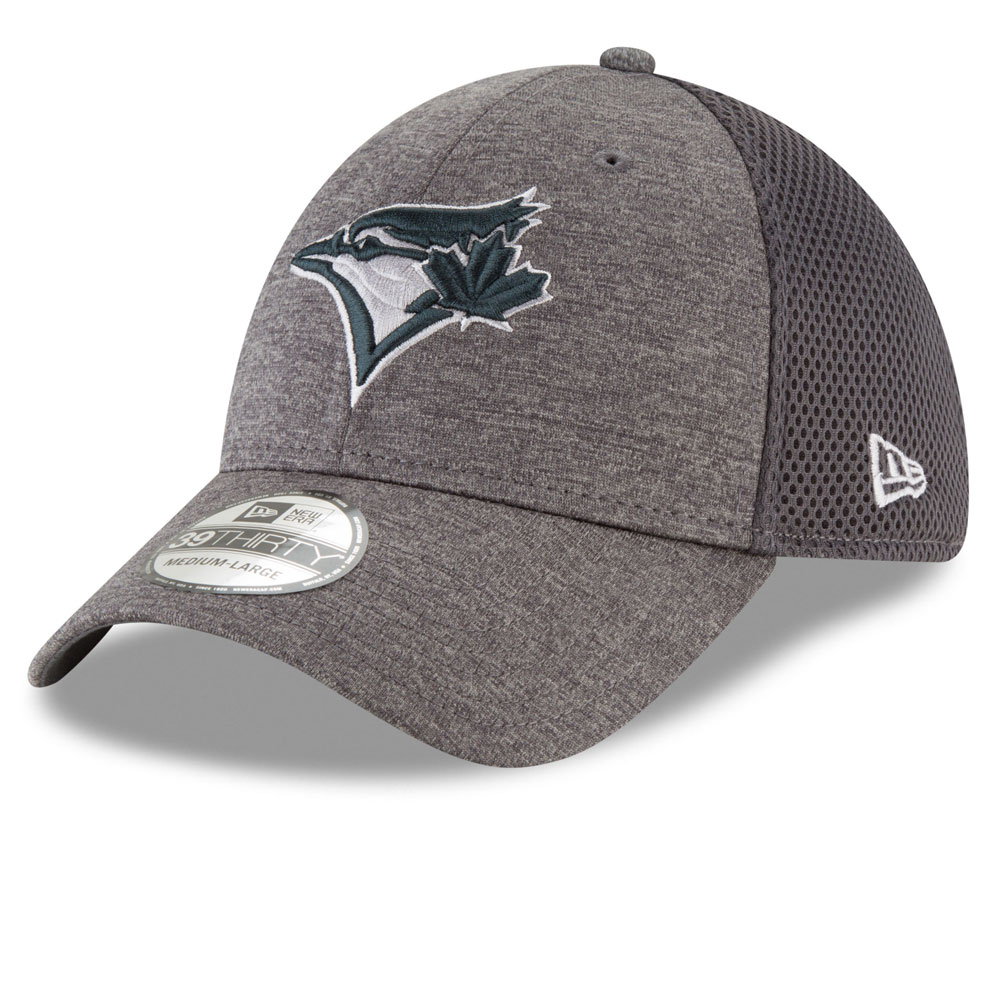 180f4d3b974 Toronto Blue Jays Classic Shade Neo 39THIRTY Stretch Fit Hat - Graphite