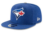 Toronto Blue Jays Heather Hype 9FIFTY Adjustable Snapback Hat by New Era