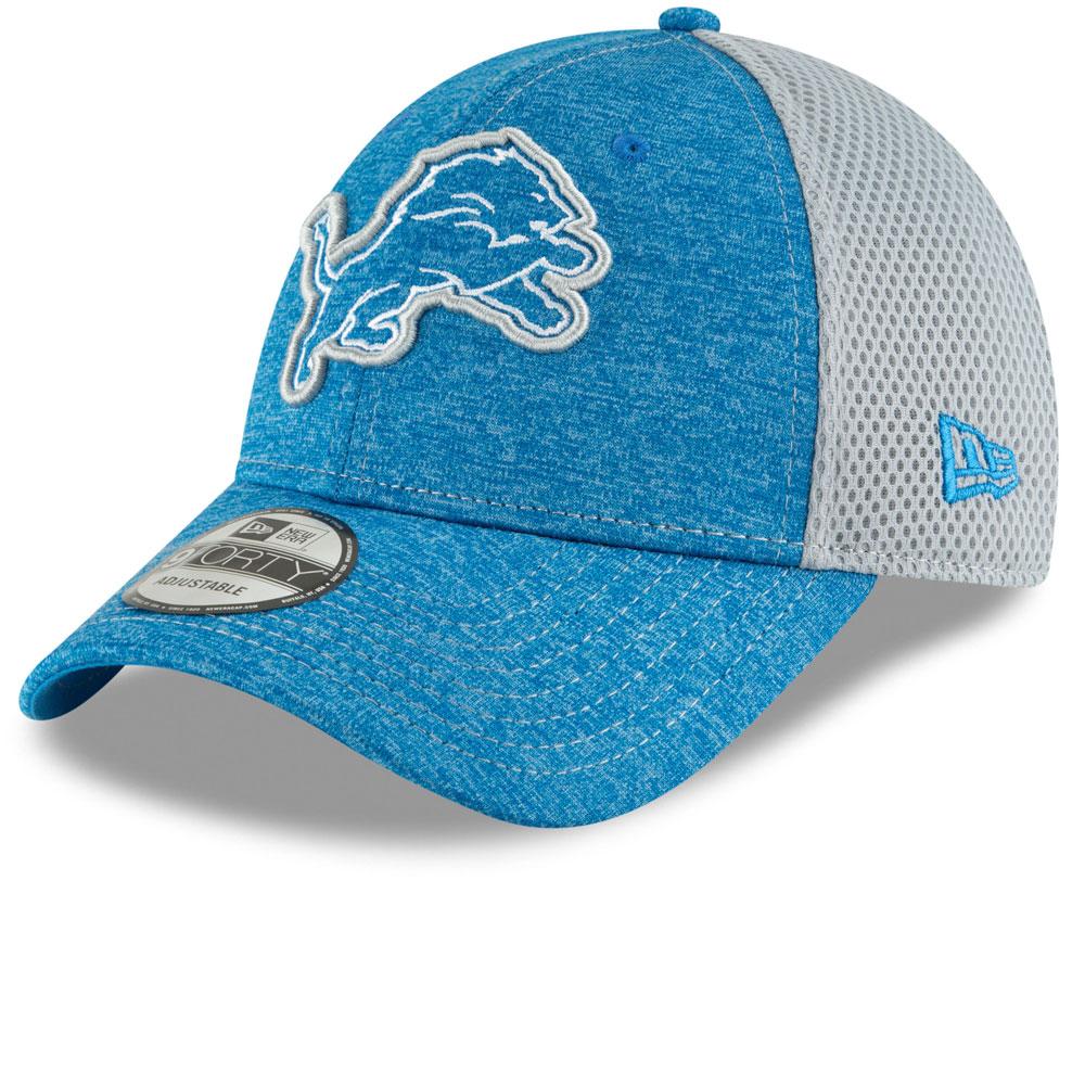 official photos b5b83 28959 Detroit Lions Surge Stitcher 9FORTY Adjustable Hat