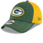 Green Bay Packers Surge Stitcher 9FORTY Adjustable Hat by New Era