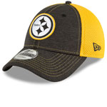 Pittsburgh Steelers Surge Stitcher 9FORTY Adjustable Hat by New Era