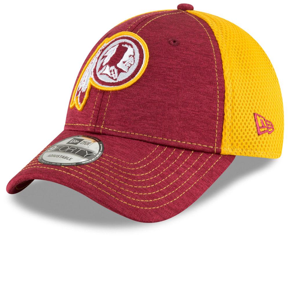 official photos c8406 d4a8b Washington Redskins Surge Stitcher 9FORTY Adjustable Hat