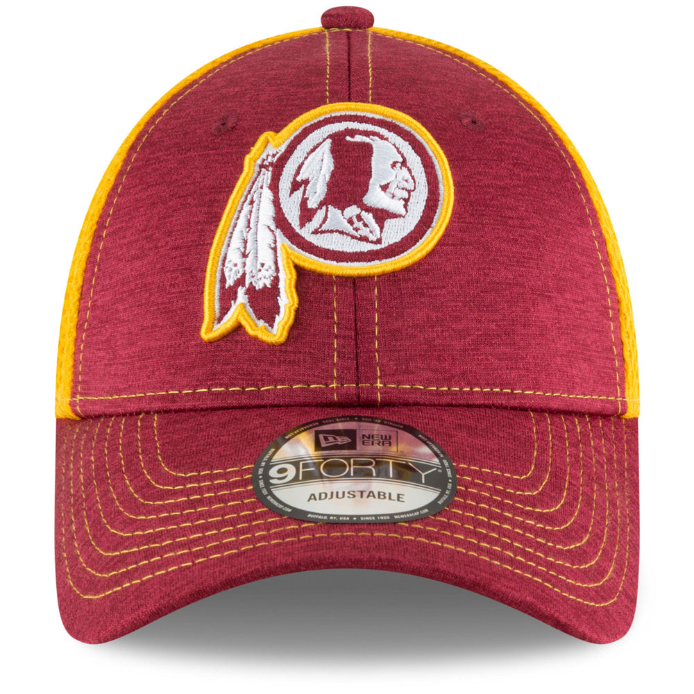 Washington Redskins Surge Stitcher 9FORTY Adjustable Hat by New Era ... e8057357a