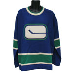 Vancouver Canucks 1972-73 Classic Heritage Knit Sweater by Roger Edwards