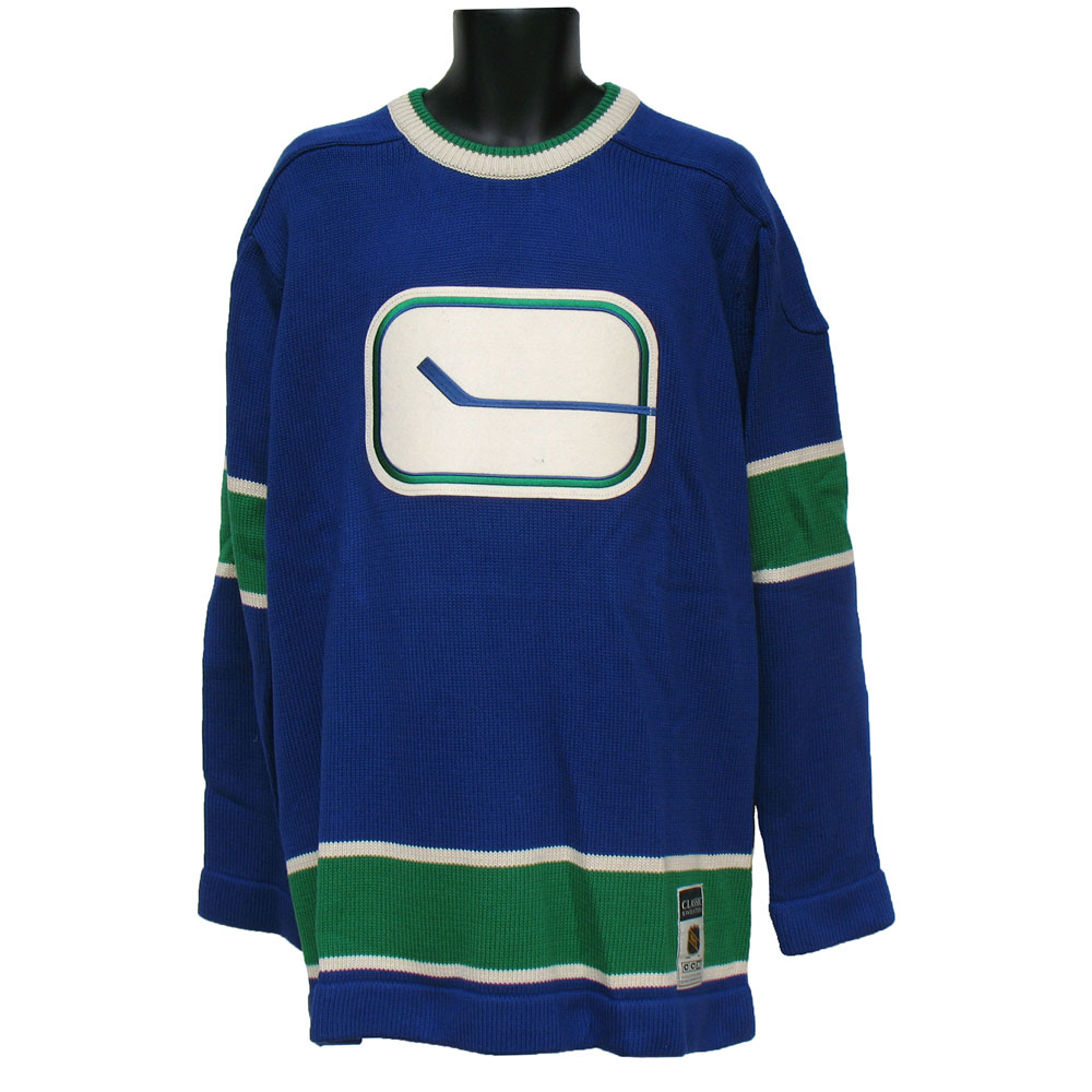 TheSportsDen.ca  Vancouver Canucks 1972-73 Classic Heritage Knit ... f2b570468