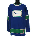 Vancouver Canucks 1972-73 Classic Heritage Knit Sweater by CCM