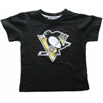 Pittsburgh Penguins Toddler Logo T-Shirt by Mighty Mac