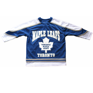 Toronto Maple Leafs Child Fashion Top by Mighty Mac