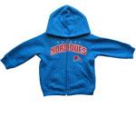 Quebec Nordiques Infant Full-Zip Fleece Hoodie by Mighty Mac